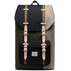 Herschel Little America Sac à dos, ivy green/black/timberwolf